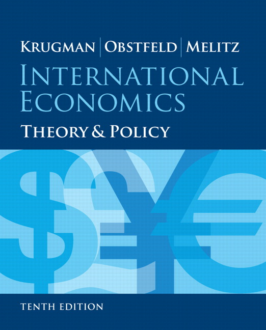 Test Bank (Complete Download) for   International Economics: Theory and Policy