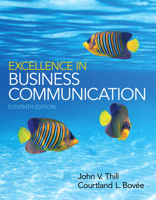 Test Bank (Complete Download) for   Excellence in Business Communication