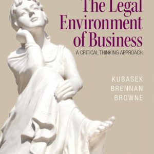 Solution Manual (Complete Download) for   The Legal Environment of Business