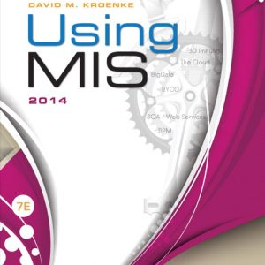 Solution Manual (Complete Download) for   Using MIS