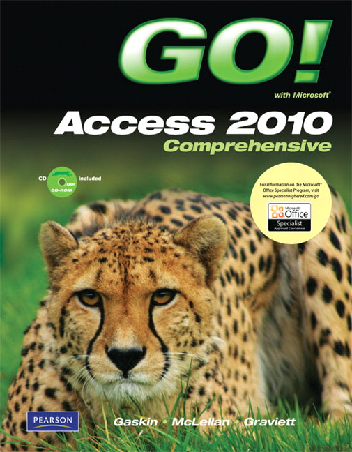 Test Bank (Complete Download) for   GO! with Microsoft Access 2010