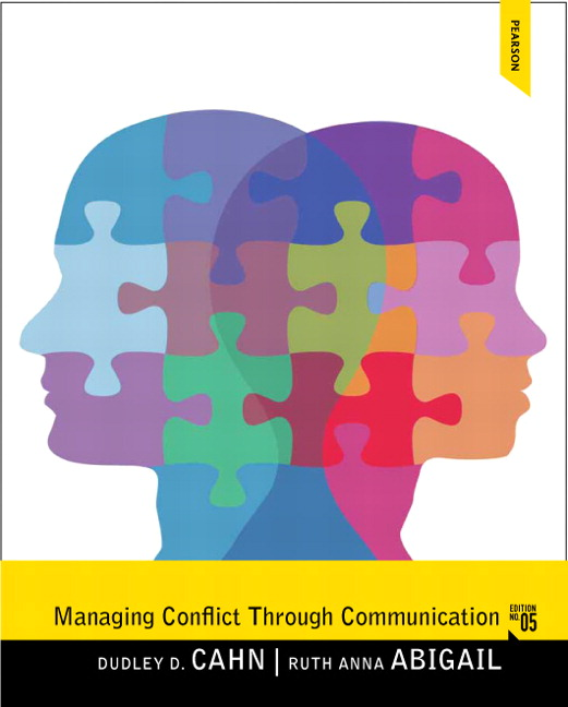 Solution Manual (Complete Download) for   Managing Conflict through Communication