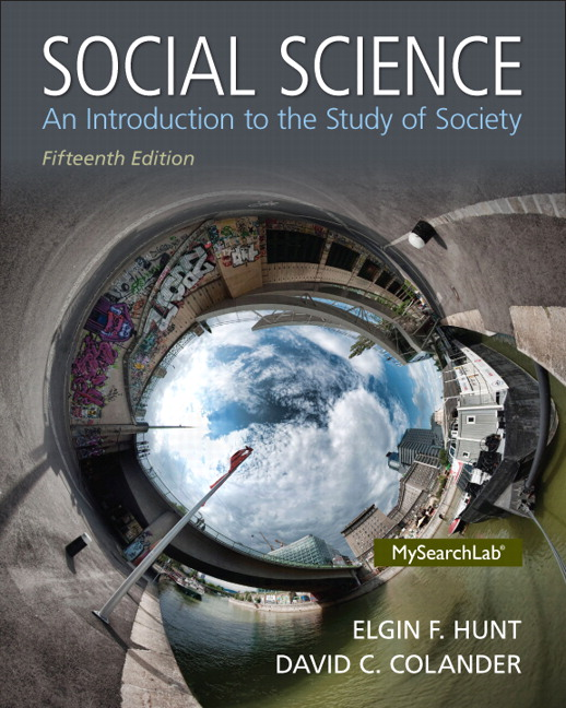 Test Bank (Complete Download) for   Social Science: An Introduction to the Study of Society