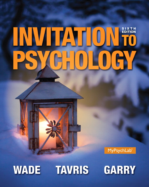 Test Bank (Complete Download) for   Invitation to Psychology