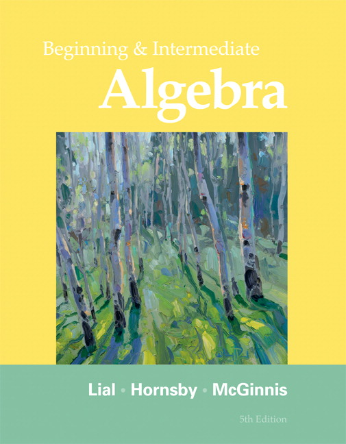 Test Bank (Complete Download) for   Beginning and Intermediate Algebra
