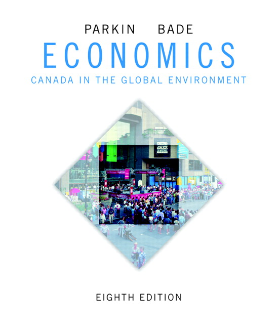 Test Bank (Complete Download) for   Economics: Canada in the Global Environment