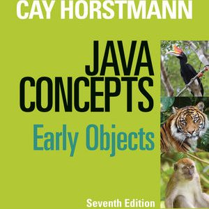 Solution Manual (Complete Download) for   Java Concepts: Early Objects
