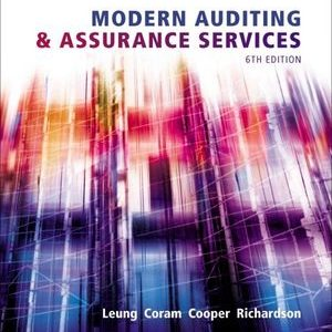 Solution Manual (Complete Download) for Modern Auditing and Assurance Services