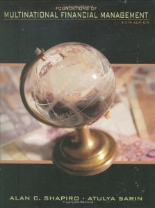 Test Bank (Complete Download) for  Foundations of Multinational Financial Management 6th Edition