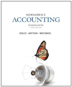 Test Bank (Complete Download) for  Horngrens Accounting The Financial Chapters