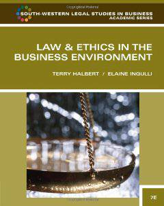 Test Bank (Complete Download) for  Law and Ethics in the Business Environment 7th Edition