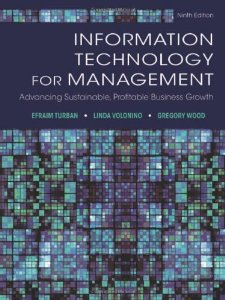 Test Bank (Complete Download) for  Information Technology for Management Advancing Sustainable