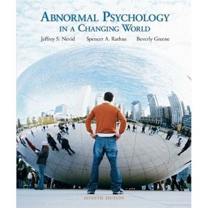 Test Bank (Complete Download) for  Abnormal Psychology in a Changing World