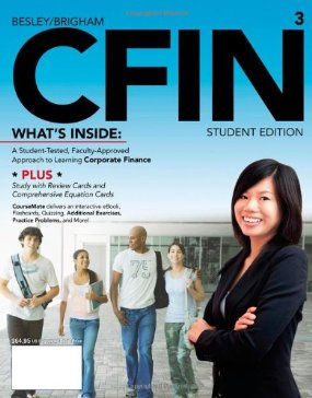 Test Bank (Complete Download) for  CFIN 3
