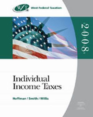 Test Bank (Complete Download) for   West Federal Taxation 2008: Individual Income Taxes