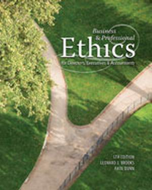 Test Bank (Complete Download) for   Business & Professional Ethics for Directors