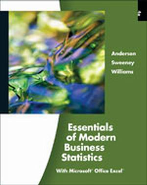 Solution Manual (Complete Download) for   Essentials of Modern Business Statistics
