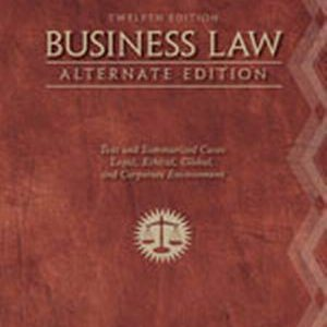 Solution Manual (Complete Download) for   Business Law