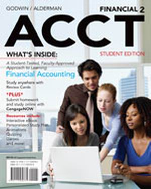 Solution Manual (Complete Download) for   Financial ACCT2