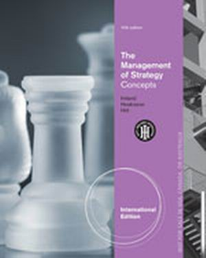 Solution Manual (Complete Download) for   The Management of Strategy: Concepts