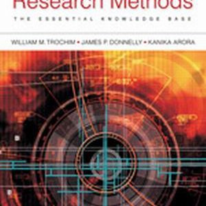 Solution Manual (Complete Download) for   Research Methods: The Essential Knowledge Base