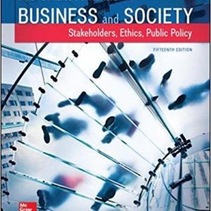 Solution Manual (Complete Download) for Business and Society: Stakeholders