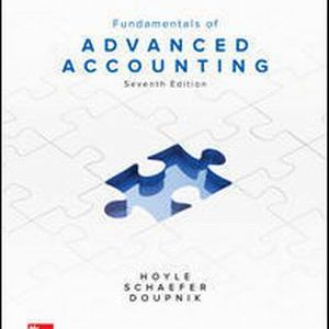 Test Bank (Complete Download) for Fundamentals of Advanced Accounting