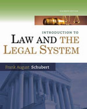 Test Bank (Complete Download) for   Introduction to Law and the Legal System