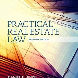 Solution Manual (Complete Download) for   Practical Real Estate Law