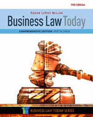 Test Bank (Complete Download) for   Business Law Today