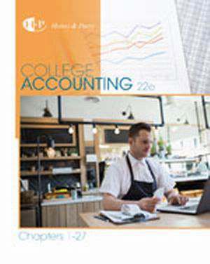Test Bank (Complete Download) for   College Accounting