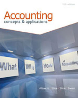 Test Bank (Complete Download) for  Accounting Concepts and Applications