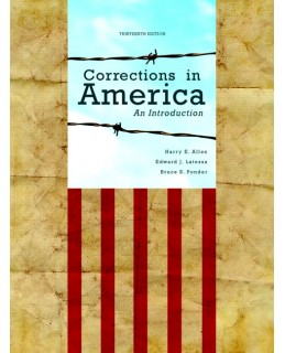 Test Bank (Complete Download) for  Corrections in America: An Introduction