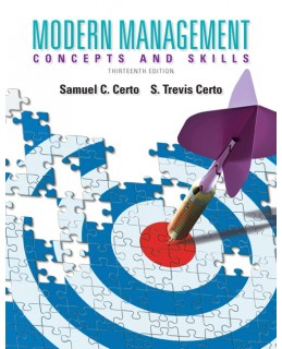 Test Bank (Complete Download) for  Modern Management: Concepts and Skills