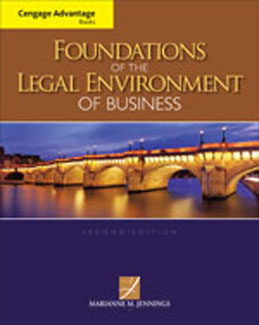 Test Bank (Complete Download) for  Foundations of the Legal Environment of Business