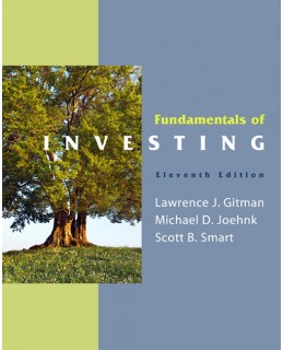 Test Bank (Complete Download) for  Fundamentals of Investing
