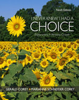 Test Bank (Complete Download) for  I Never Knew I Had A Choice Explorations in Personal Growth