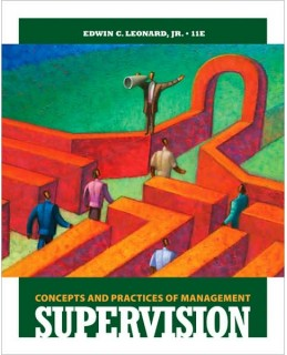 Test Bank (Complete Download) for  Supervision Concepts and Practices of Management 11th Edition