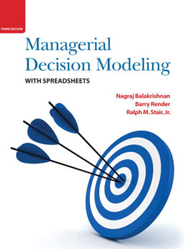 Test Bank (Complete Download) for  Managerial Decision Modeling with Spreadsheets