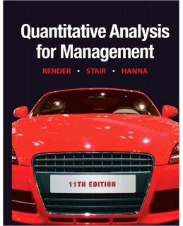 Test Bank (Complete Download) for  Quantitative Analysis for Management